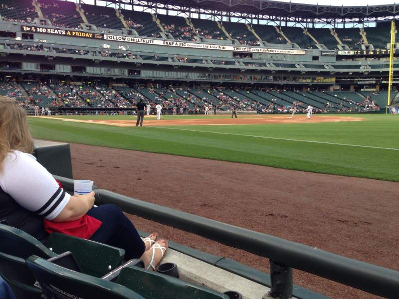 Guaranteed Rate Field Section Row Seat Chicago White - Us cellular field view from seat