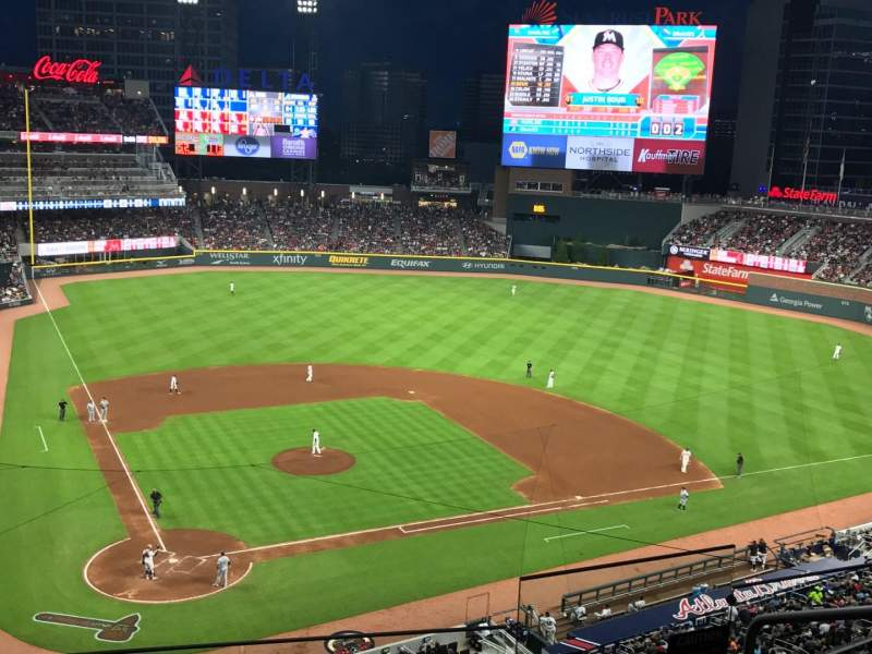 Seating view for SunTrust Park Section 324 Row 5 Seat 5
