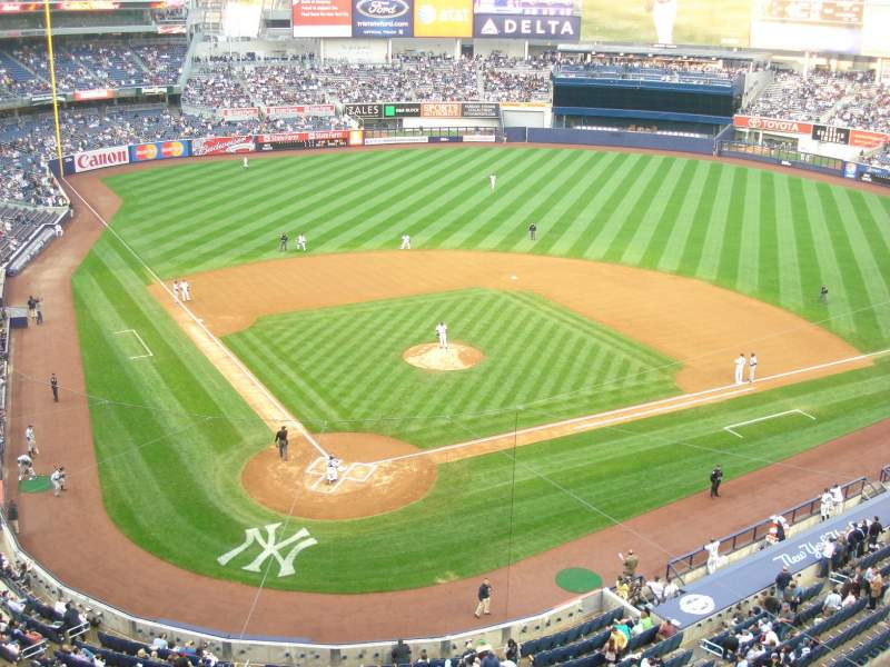 Seating view for yankee stadium Section 319 Row 1