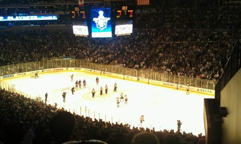 Seating view for Madison Square Garden Section 328 Row G Seat 7