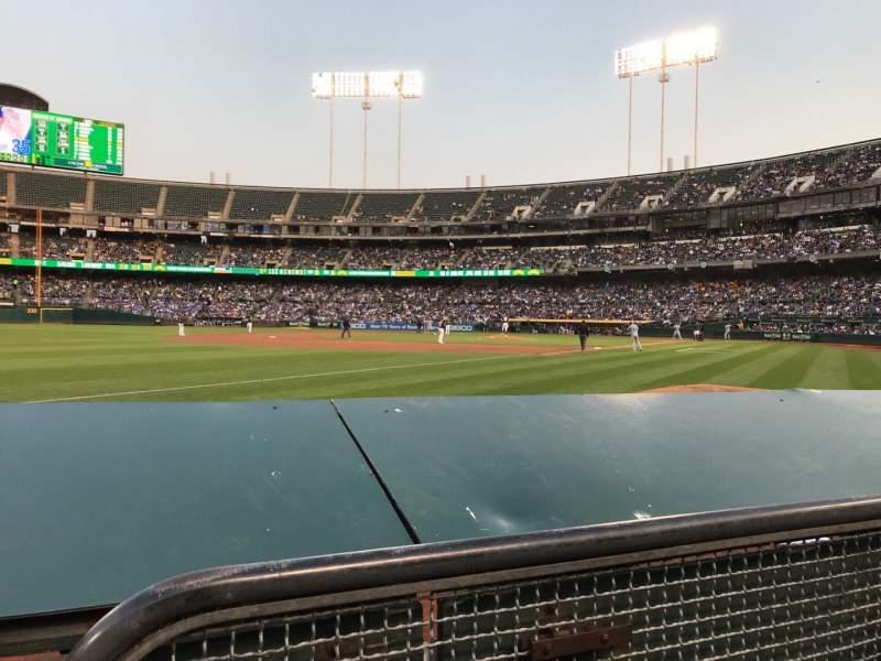 Oakland Alameda Coliseum, section: 128, row: 2, seat: 6