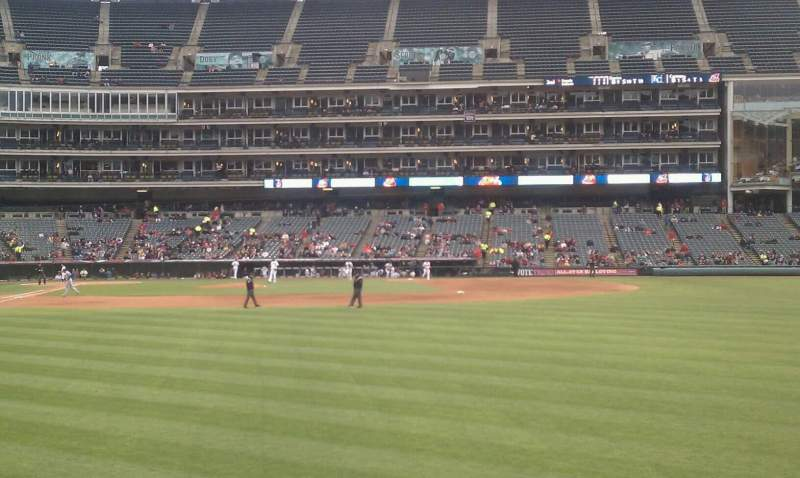 Seating view for Progressive Field Section 113 Row c Seat 7