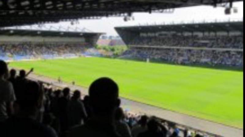 Seating view for Kassam Stadium