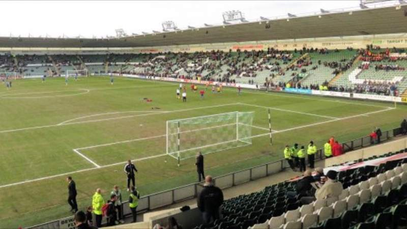 Seating view for Home Park