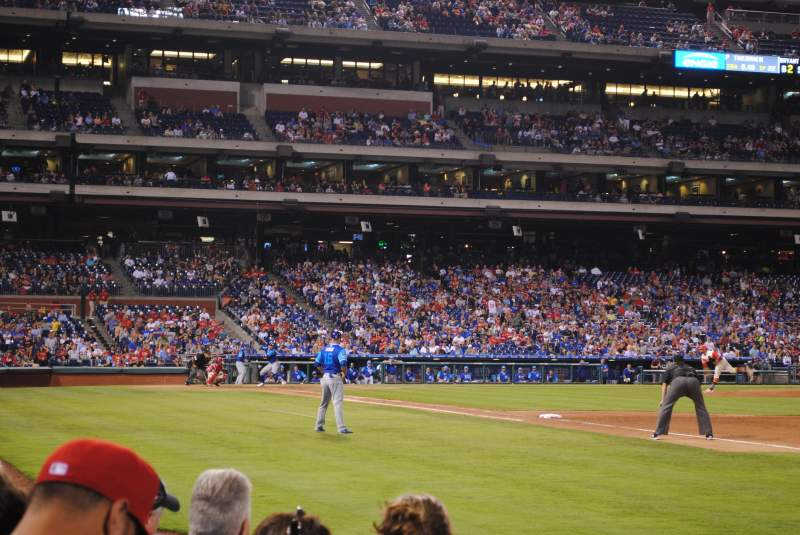 Seating view for Citizens Bank Park Section 111 Row 5 Seat 11