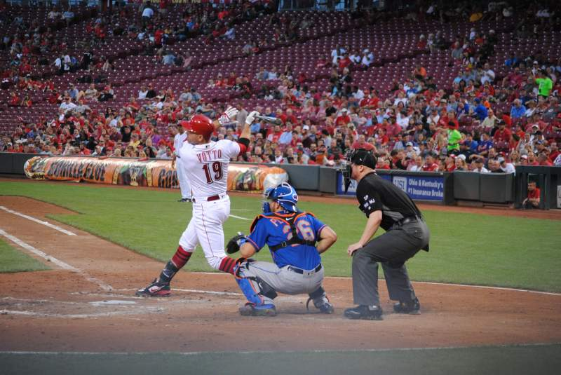 Seating view for Great American Ball Park Section 119 Row F Seat 1