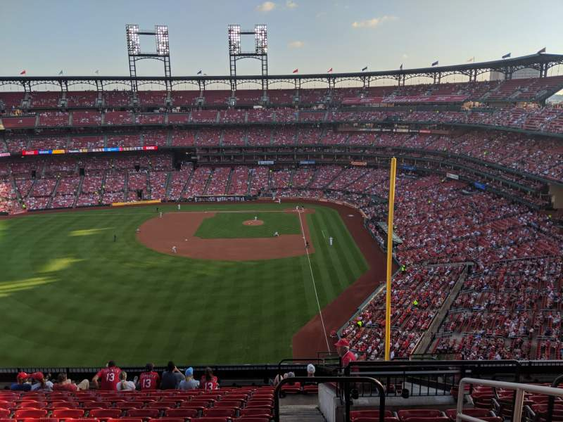 Seating view for Busch Stadium Section 372 Row 13 Seat 2