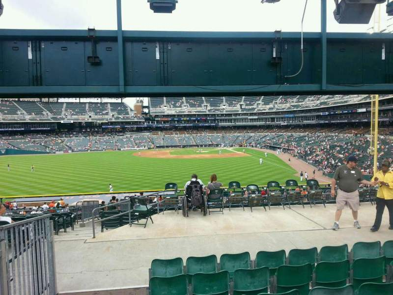 Seating view for Comerica Park Section 148 Row FFF Seat 18