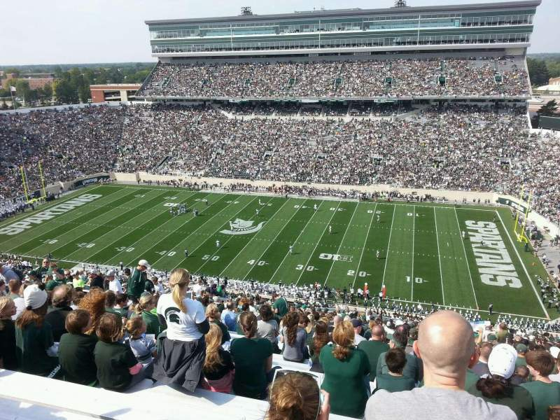 Seating view for Spartan Stadium Section 106 Row 31 Seat 36