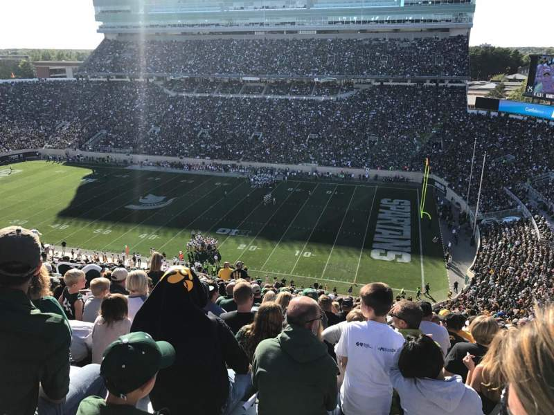 Seating view for Spartan Stadium Section 106 Row 22 Seat 1