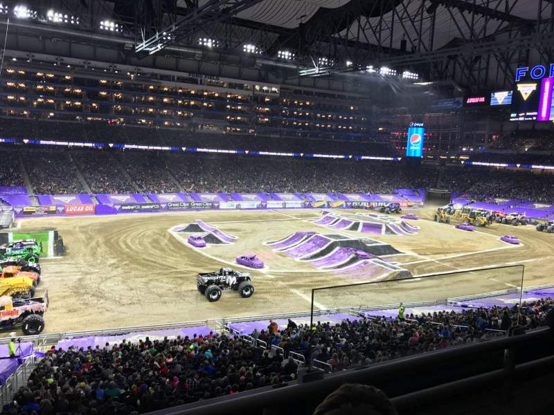 Ford Field, section: 226, row: 2, seat: 25