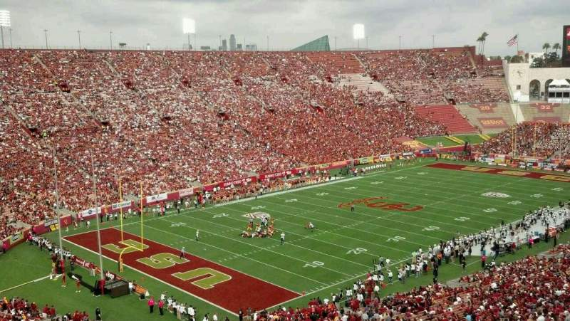 Seating view for Los Angeles Memorial Coliseum Section 11L Row 75 Seat 10