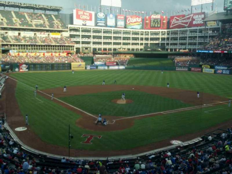 Seating view for Globe Life Park in Arlington Section Suite 119