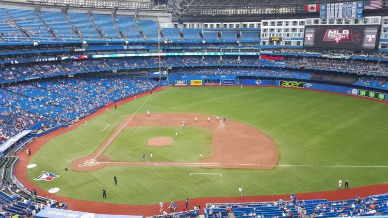 Seating view for Rogers Centre Section 519R Row 5 Seat 5