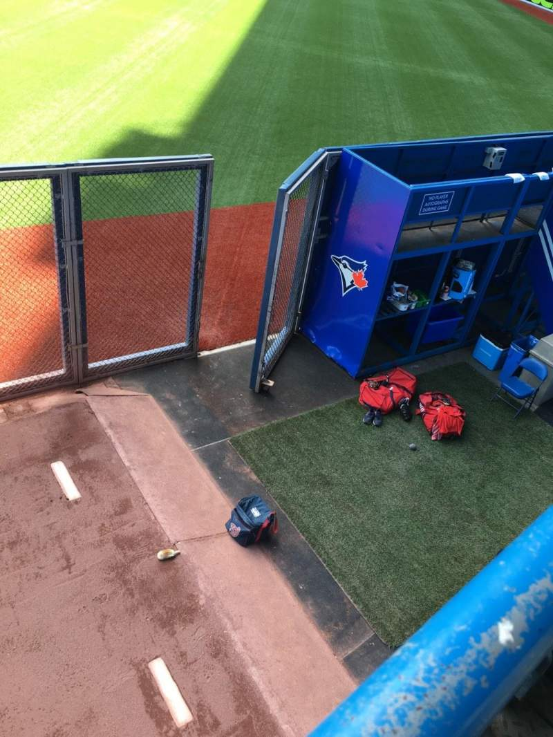 Rogers Centre, section: 106L, row: 1, seat: 102