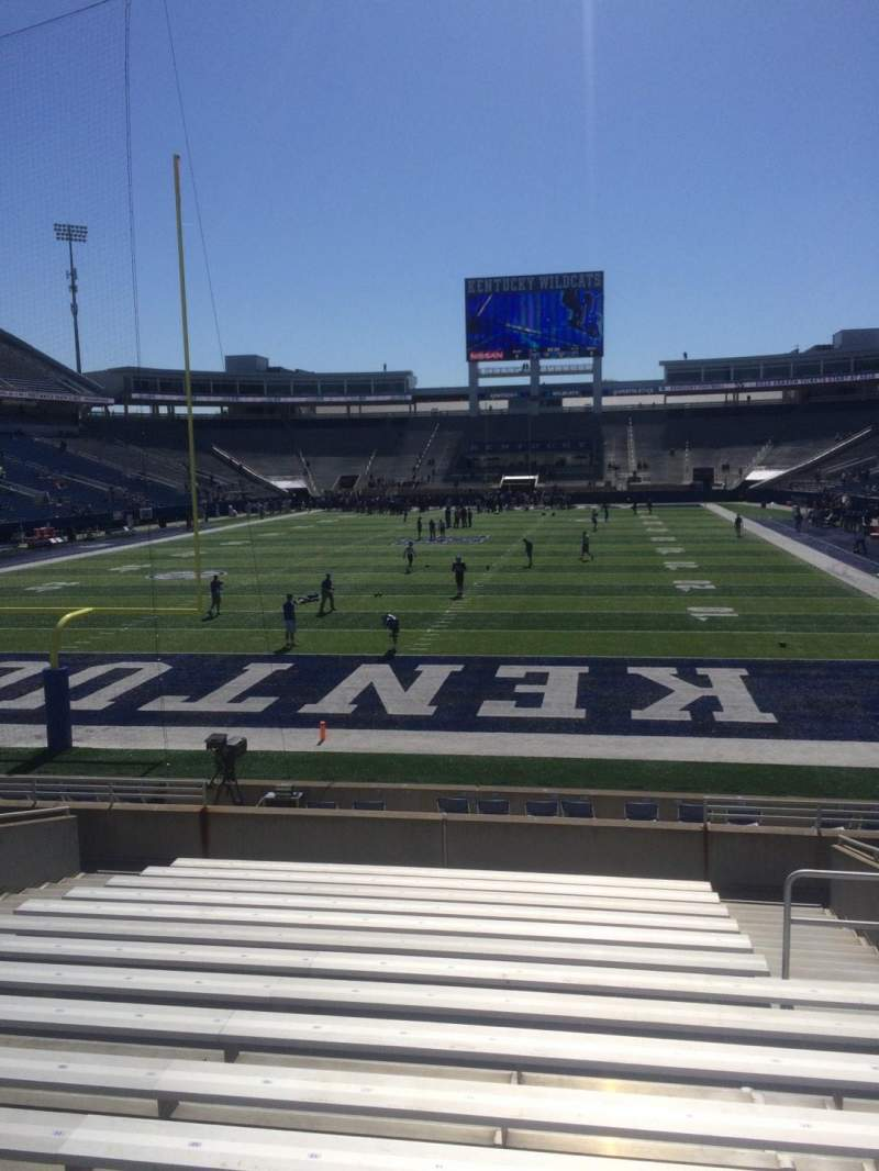 Seating view for Kroger Field Section 17 Row 16 Seat 15