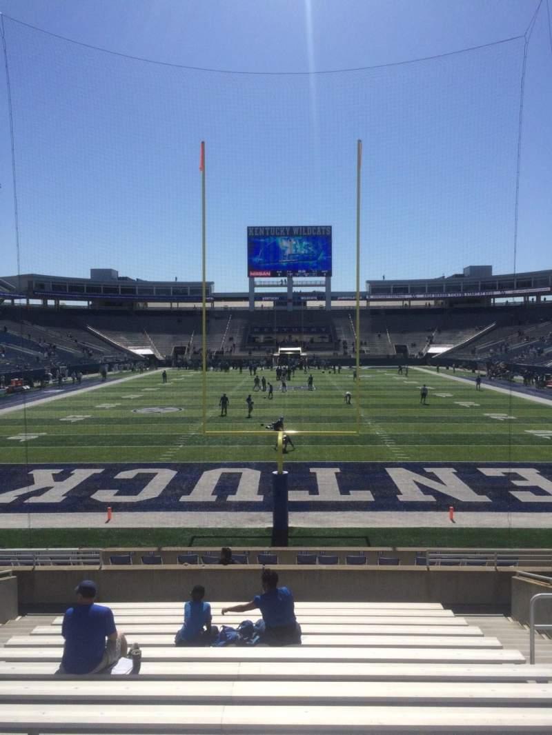 Kroger Field, section: 16, row: 17, seat: 12