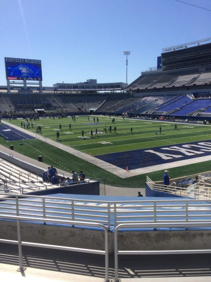 Seating view for Kroger Field Section 12 Row 21 Seat 12