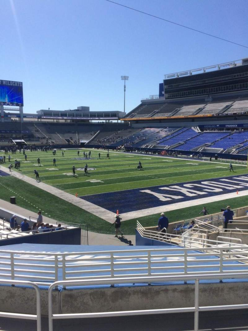 Seating view for Kroger Field Section 12 Row 21 Seat 14