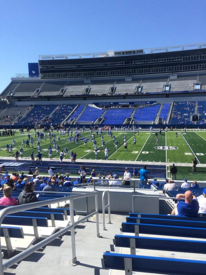 Kroger Field, section 8, row 27, seat 1 - Kentucky ...