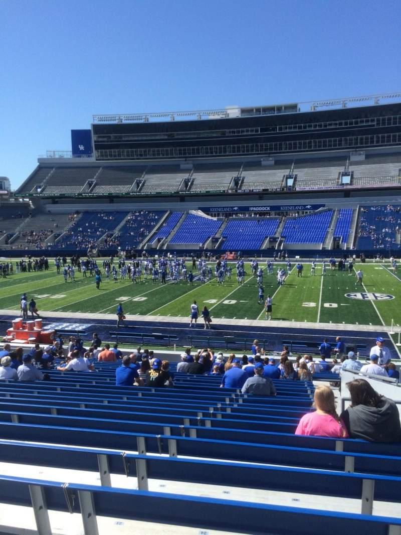 Kroger Field, section: 7, row: 26, seat: 25