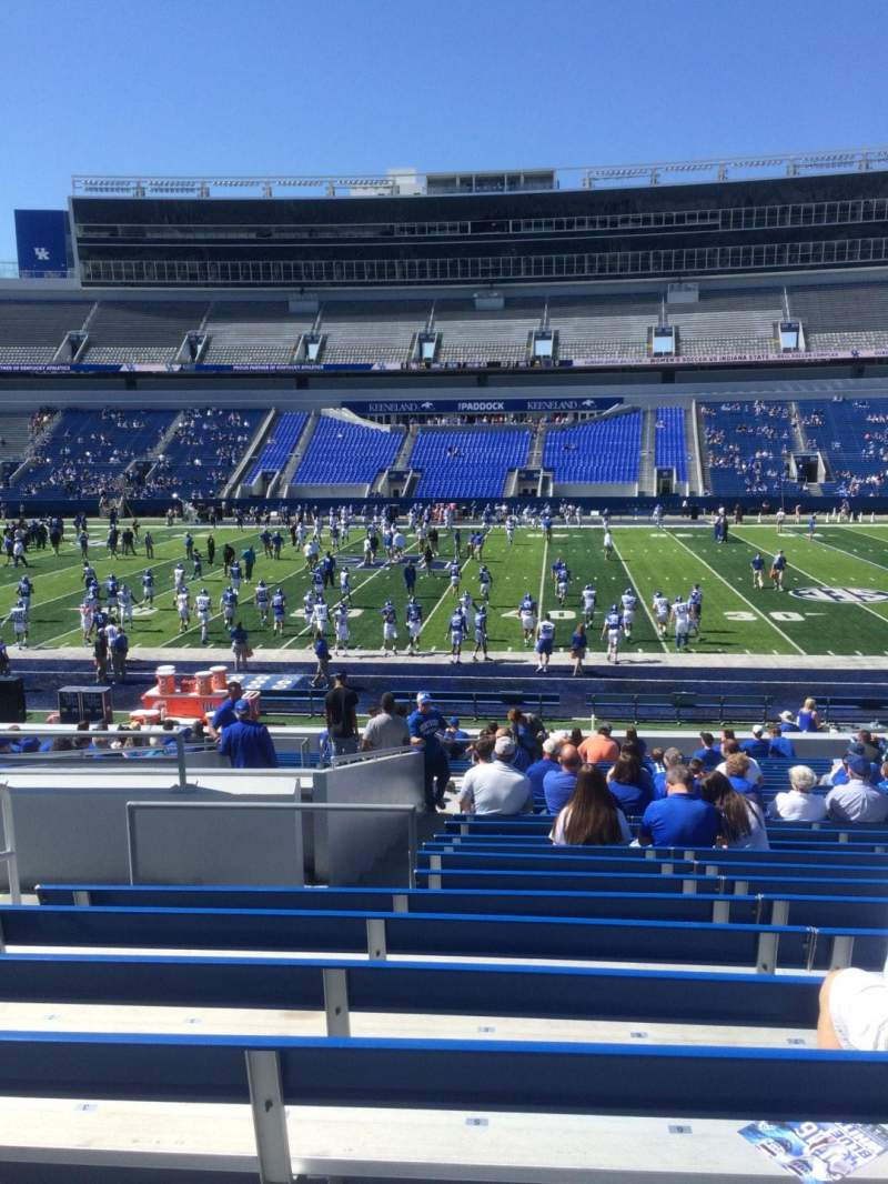Seating view for Kroger Field Section 7 Row 26 Seat 5