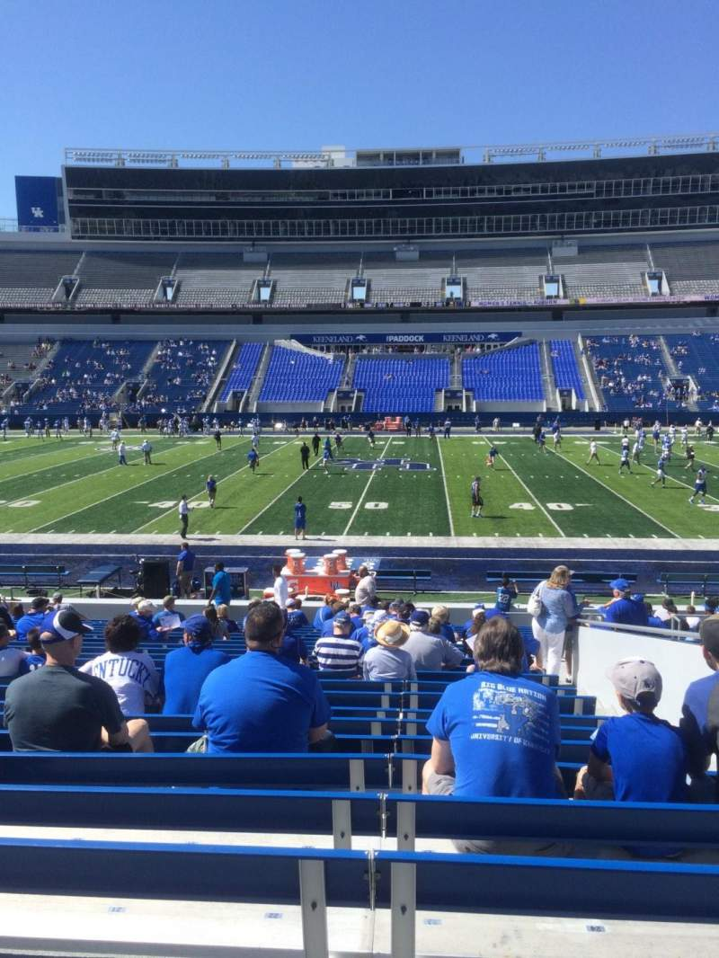 Seating view for Kroger Field Section 6 Row 24 Seat 23