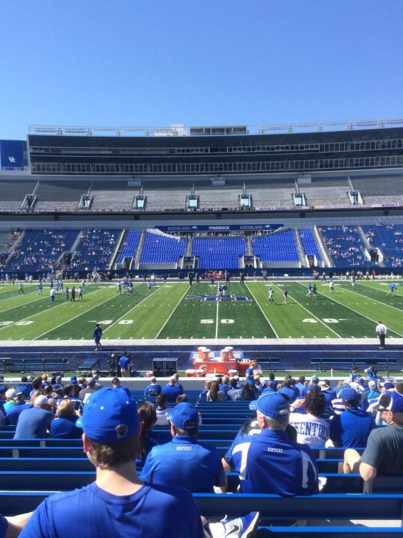Seating view for Kroger Field Section 6 Row 24 Seat 16