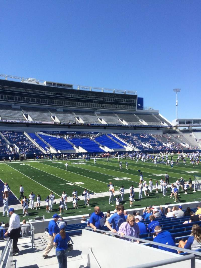 Seating view for Kroger Field Section 2 Row 21 Seat 25