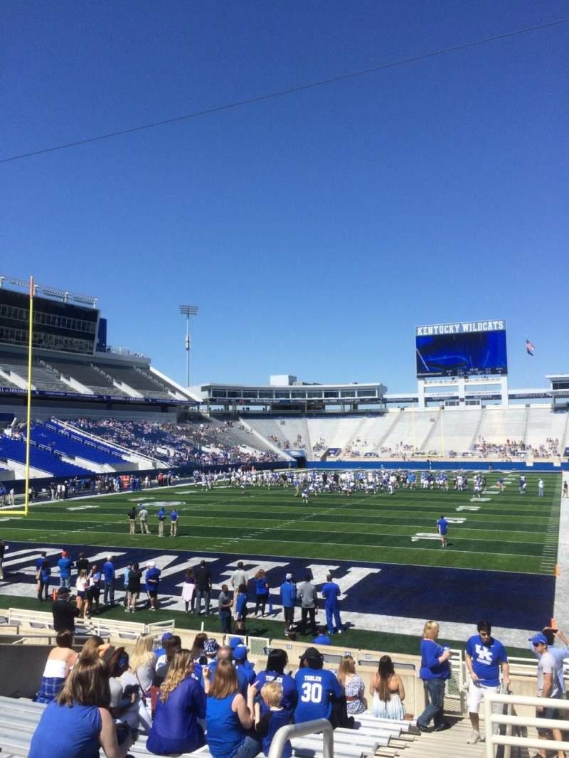 Kroger Field, section: 39, row: 15, seat: 1