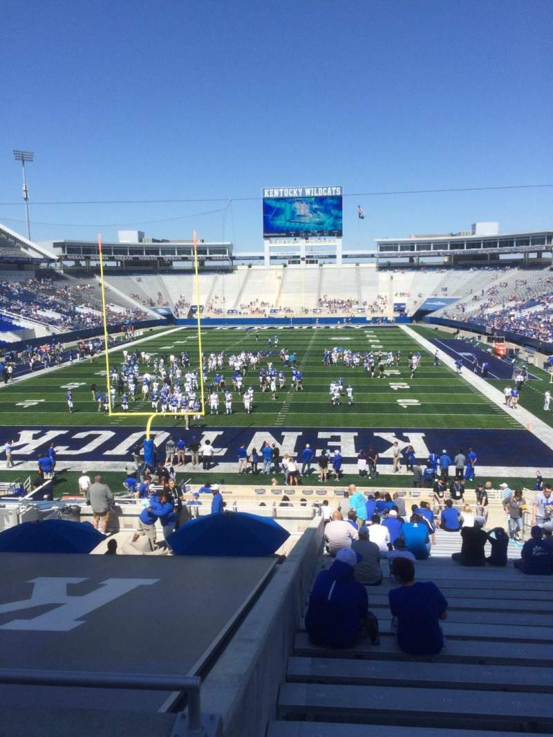 Seating view for Commonwealth Stadium Section 37 Row 33 Seat 11