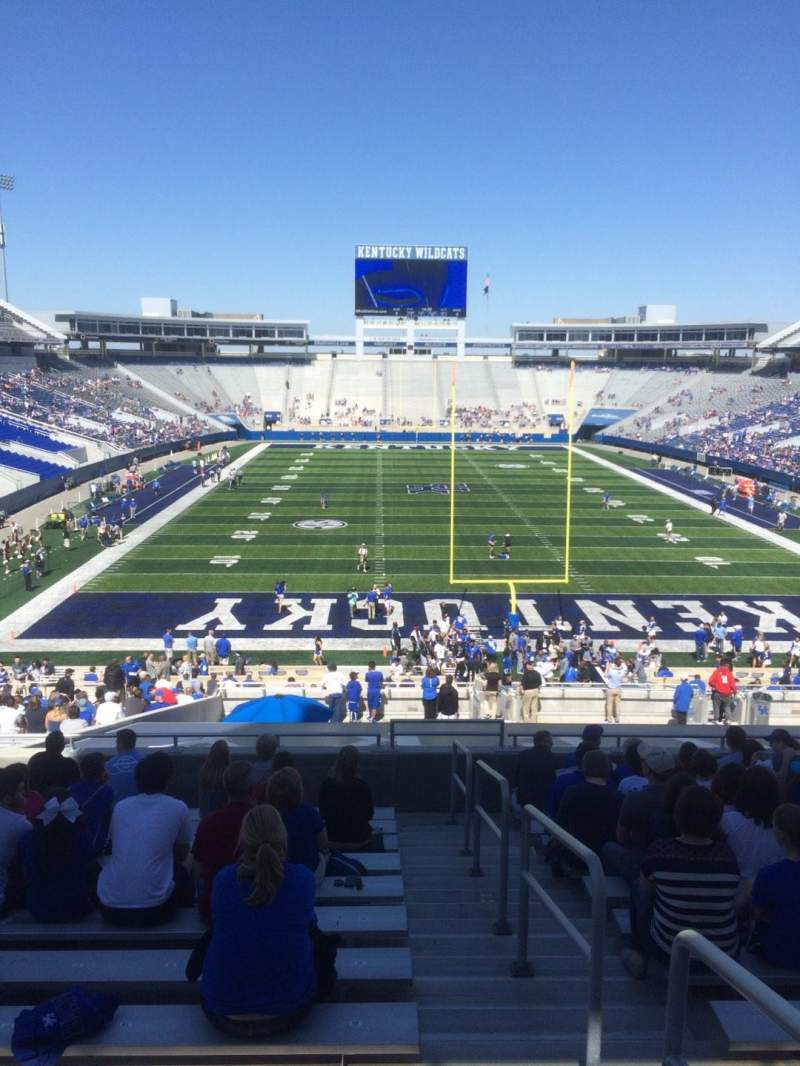 Seating view for Commonwealth Stadium Section 35 Row 43 Seat 20