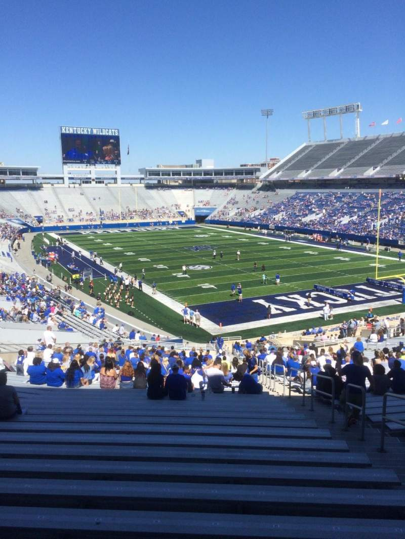 Seating view for Kroger Field Section 32 Row 46 Seat 35