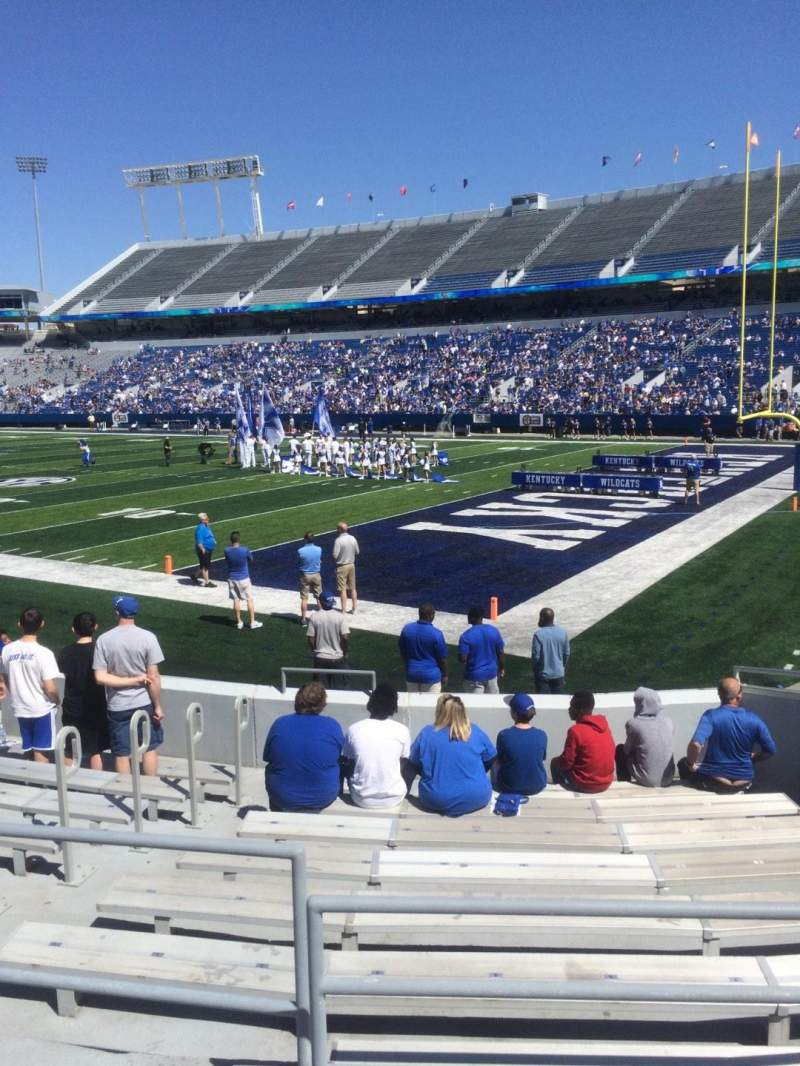 Seating view for Commonwealth Stadium Section 31 Row 11 Seat 1