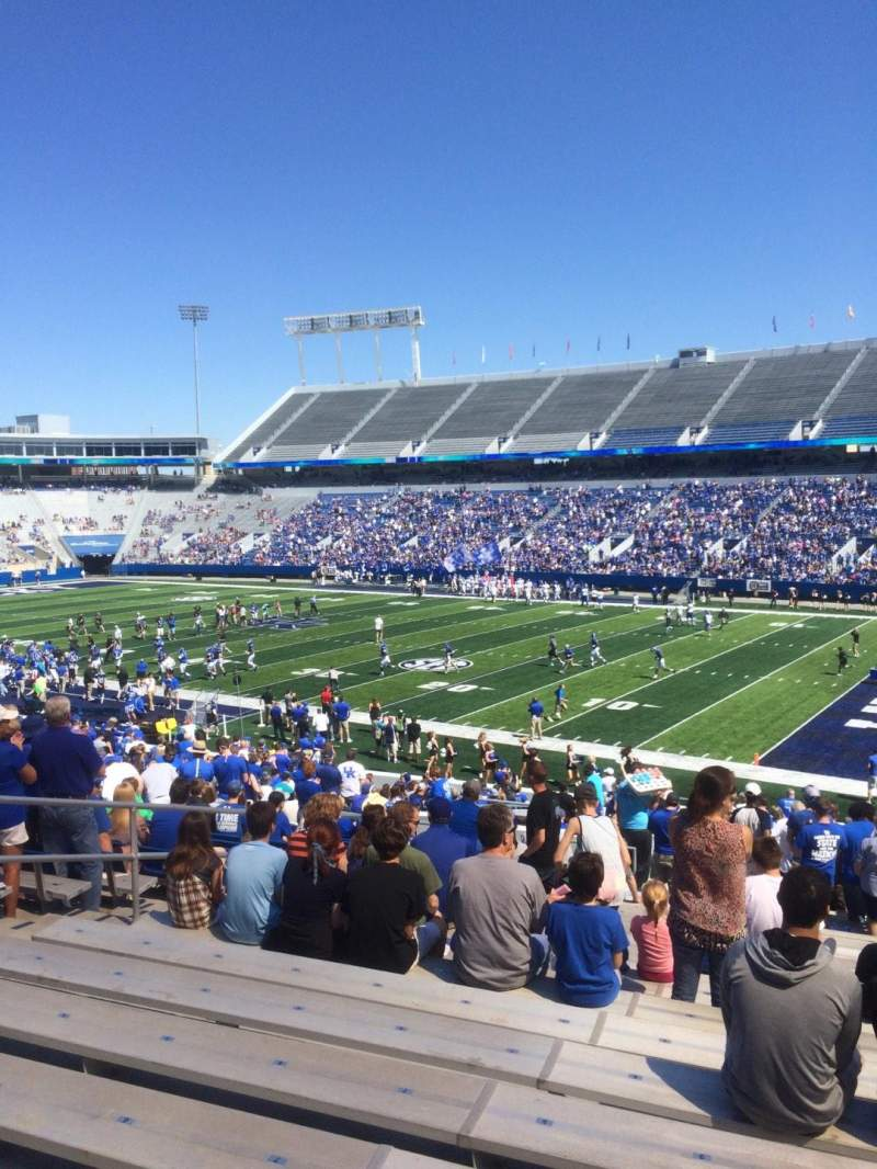 Seating view for Commonwealth Stadium Section 30 Row 36 Seat 10