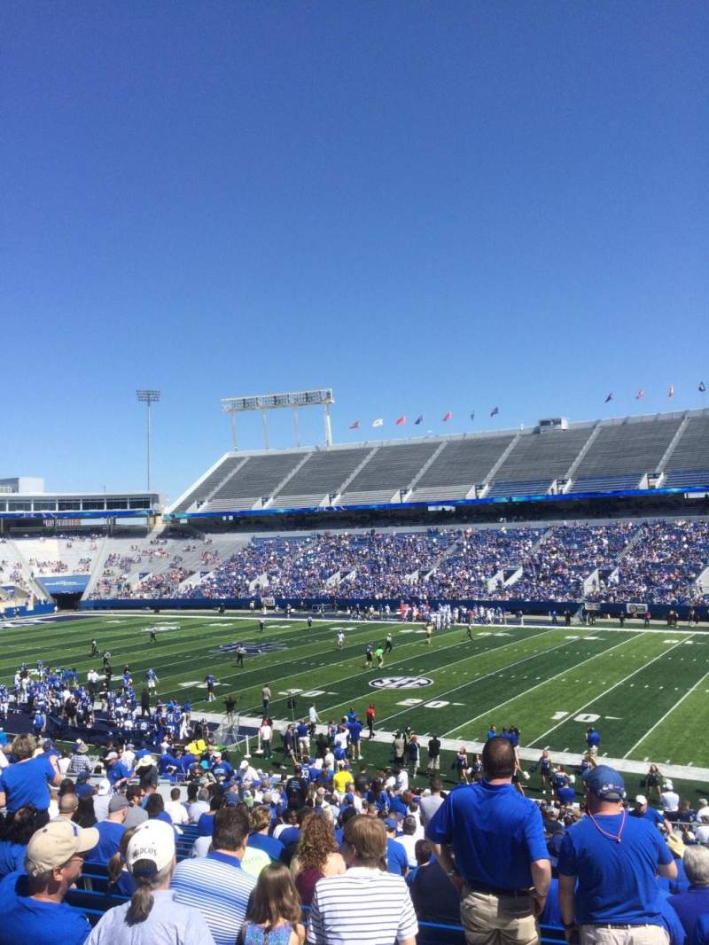 Seating view for Kroger Field Section 29 Row 36 Seat 30