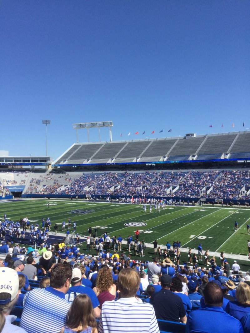 Seating view for Kroger Field Section 29 Row 34 Seat 28