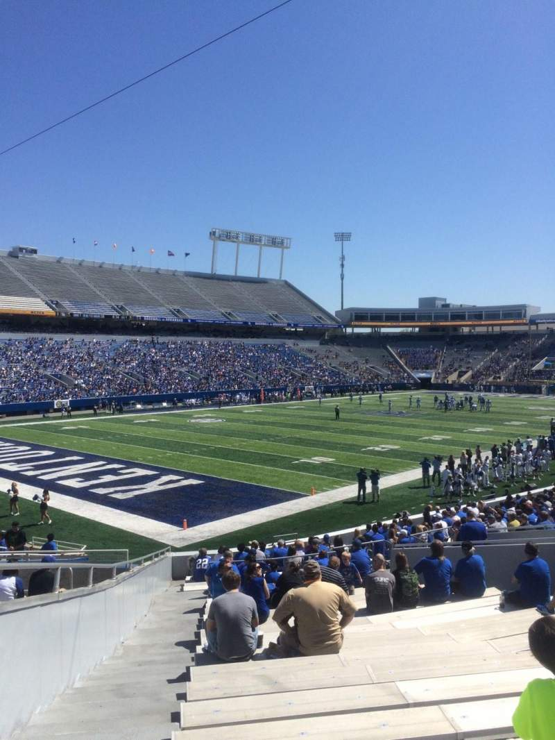 Kroger Field, section: 21, row: 27, seat: 1
