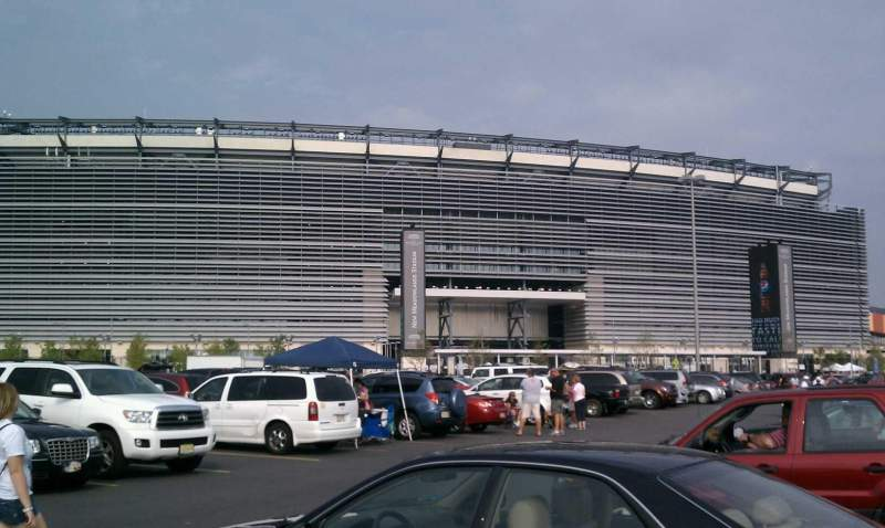 Seating view for MetLife Stadium Section MetLife Gate