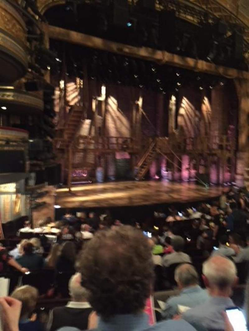 Seating view for Richard Rodgers Theatre Section Orchestra L Seat 25