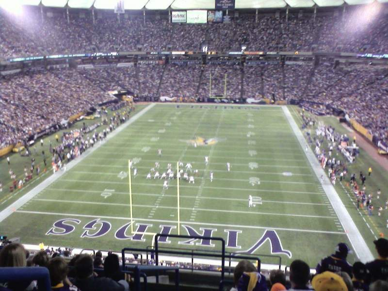 Seating view for Mall of America Field Section 239 Row 13 Seat 31