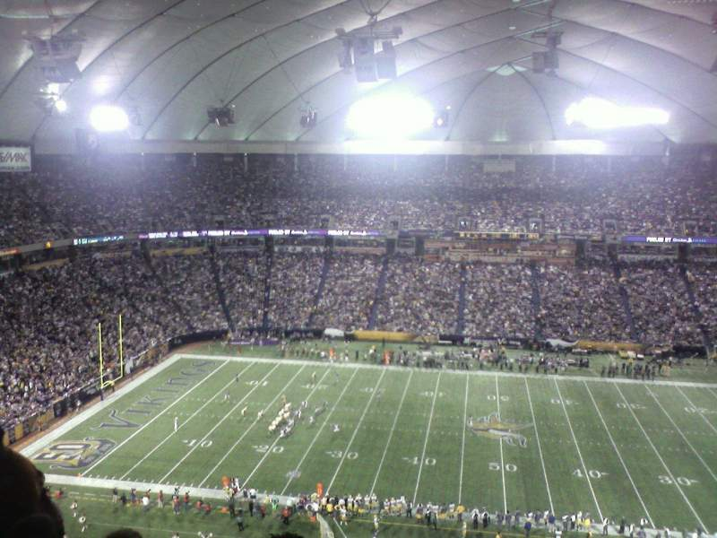 Seating view for Mall of America Field Section 230 Row 29 Seat 24