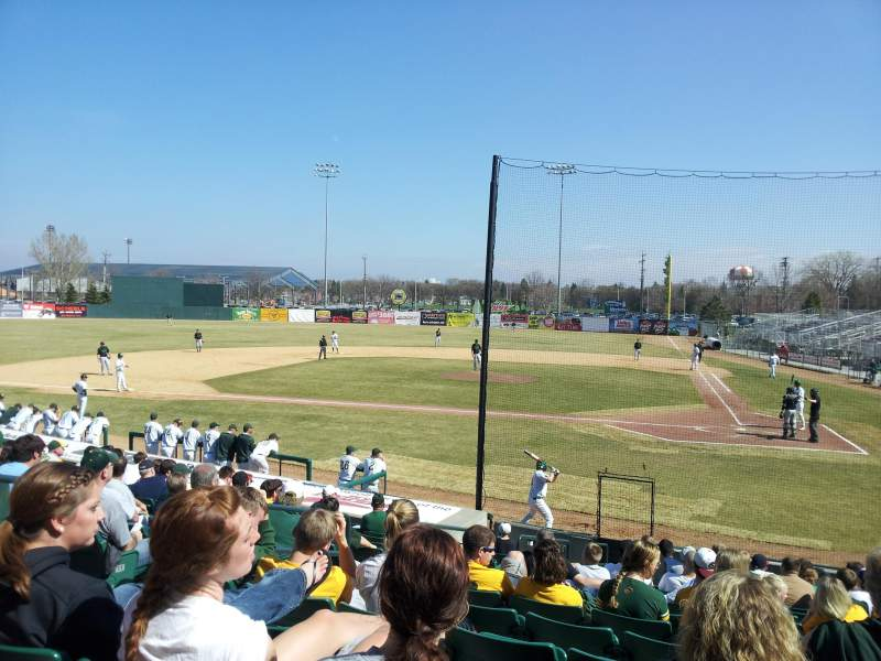 Seating view for Newman Outdoor Field Section GA