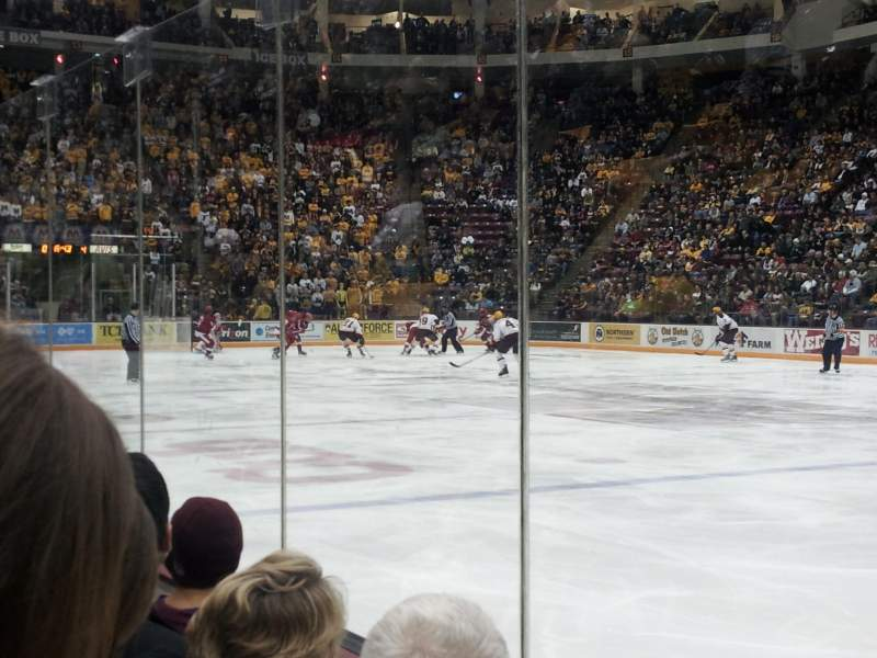 Seating view for Mariucci Arena Section 5 Row 2 Seat 1