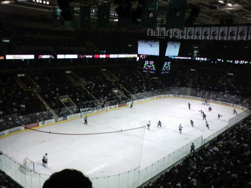 Seating view for Ralph Engelstad Arena Section 311 Row F Seat 16