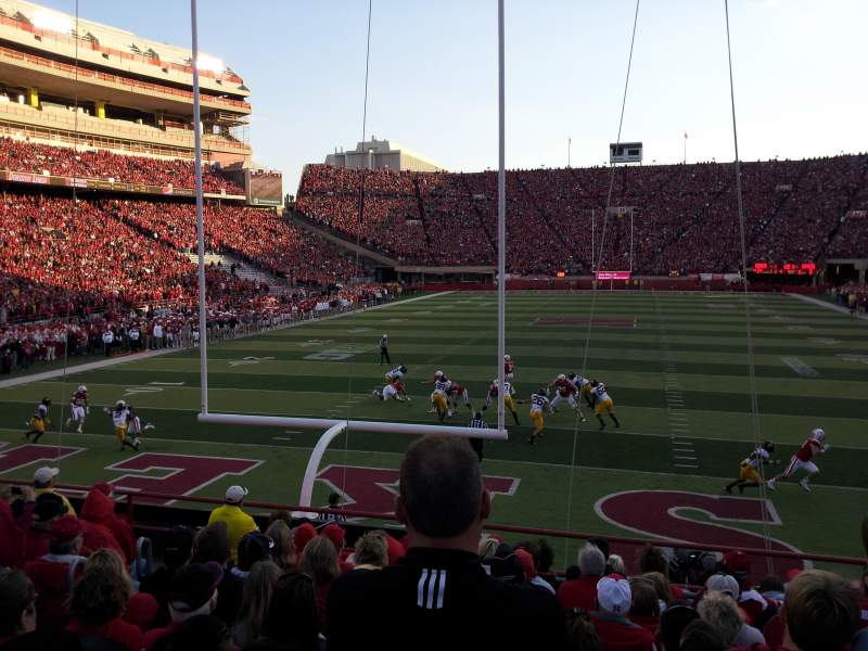 Seating view for Memorial Stadium Section 35 Row 13 Seat 24