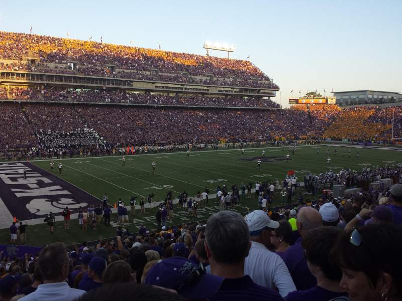 Seating view for Bill Snyder Family Stadium Section 1 Row 29 Seat 8