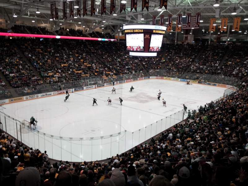 Mariucci Arena, section: 11, row: 23, seat: 11