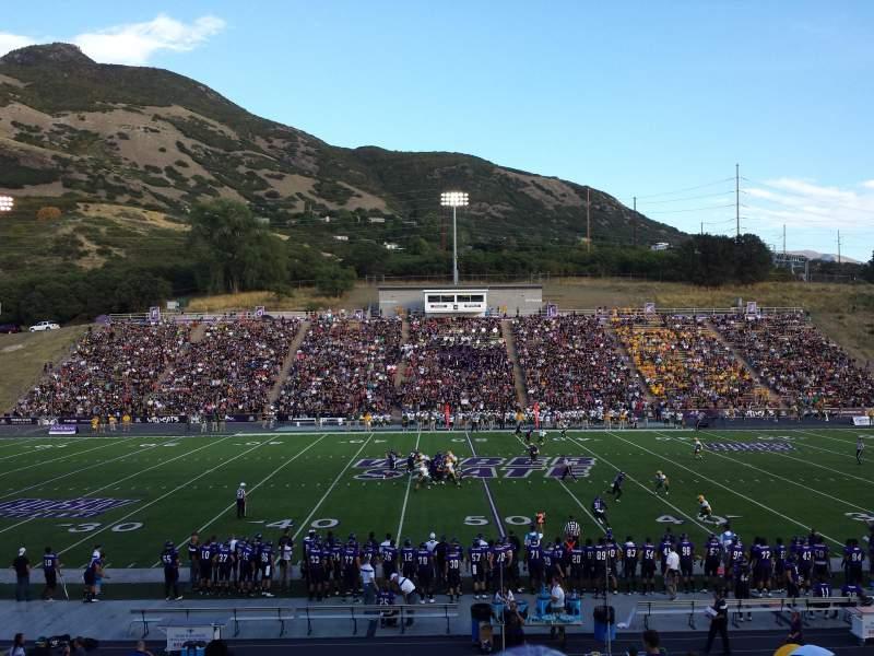 Stewart Stadium, section: D, row: 22, seat: 11