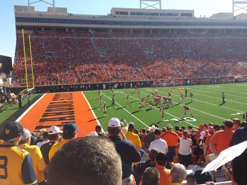 Seating view for Boone Pickens Stadium Section 227 Row 2 Seat 8